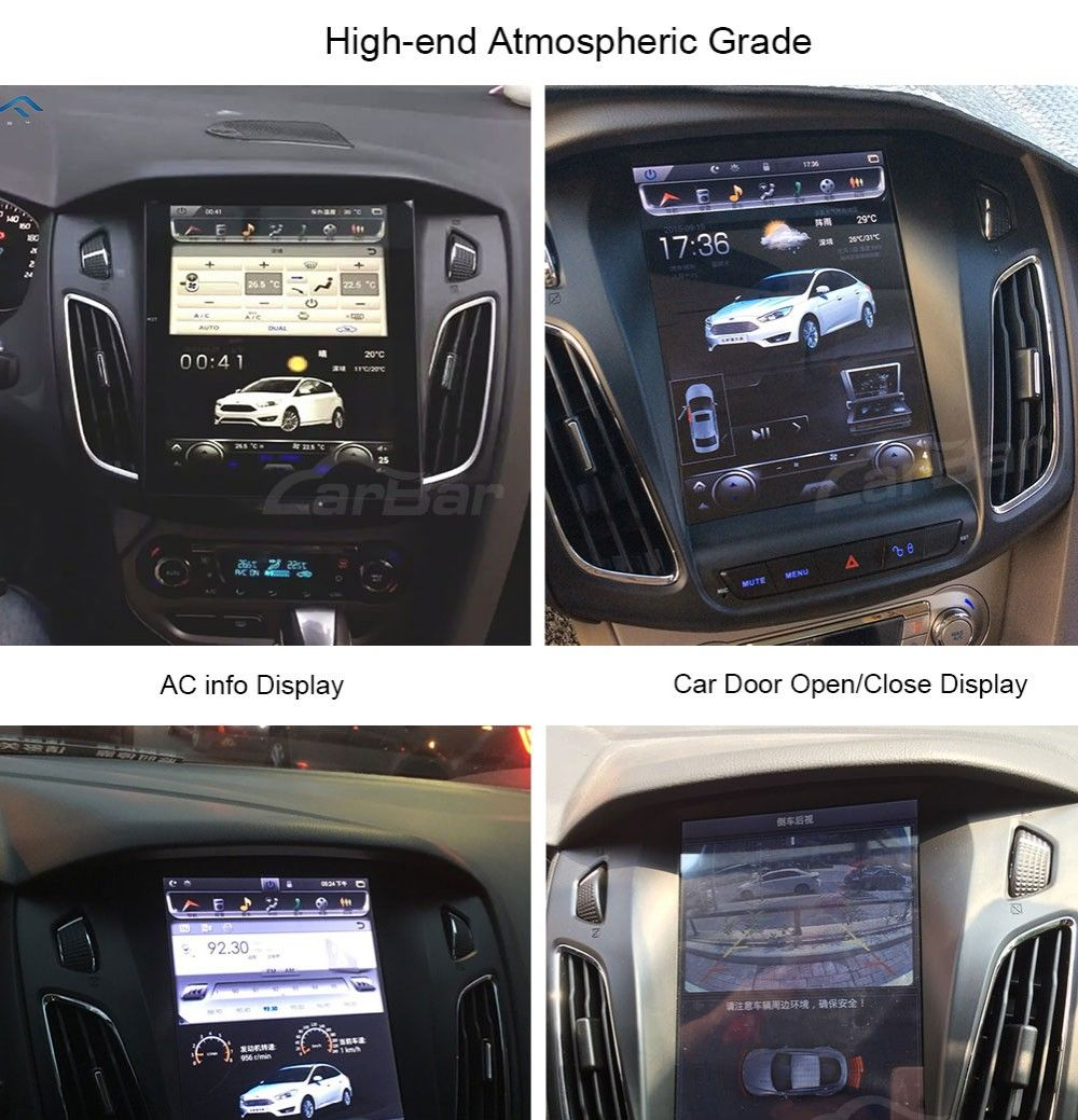 10 4 Vertical Screen Android Navi Radio For Ford Focus 2011 2019 Ford Focus Ford Focus Hatchback Ford Focus Sedan