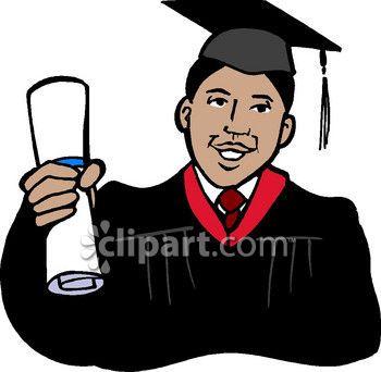 black college graduates with afros african american graduate clip rh pinterest com