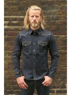 74ccecafcd Iron Heart Western Denim Shirt