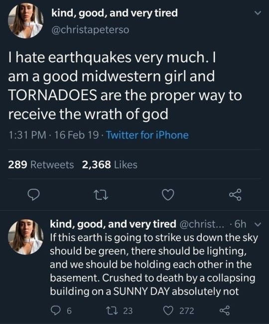 The proper way to receive God's wrath. 😂 | funny | Tumblr ...
