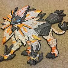 Dusk Mane Solgaleo Perler Beads Pokémon Strijkkralen