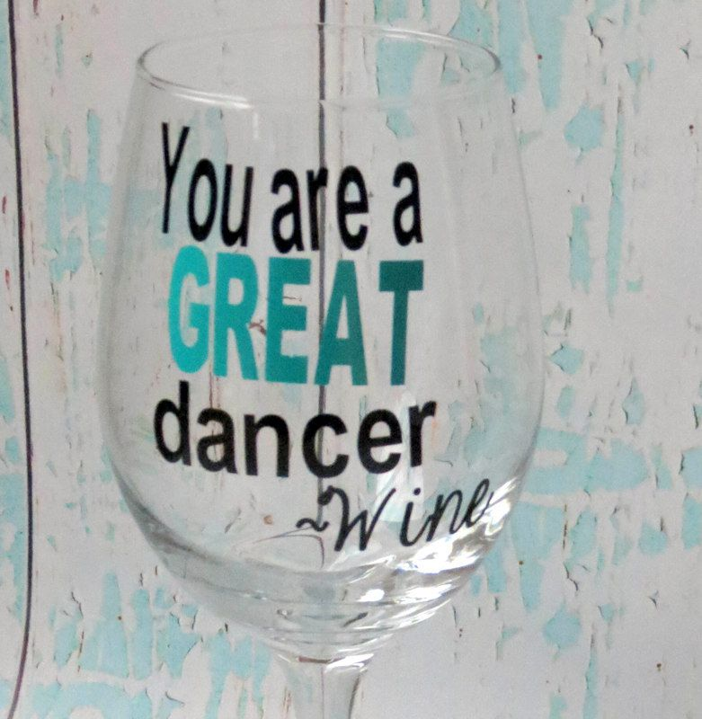Wine Glass Gift Funny Wine Glass Custom Wine Glass Great - Custom vinyl decals for wine glasses