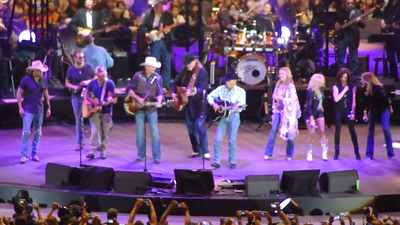George Strait All My Ex S Live In Texas Final Concert