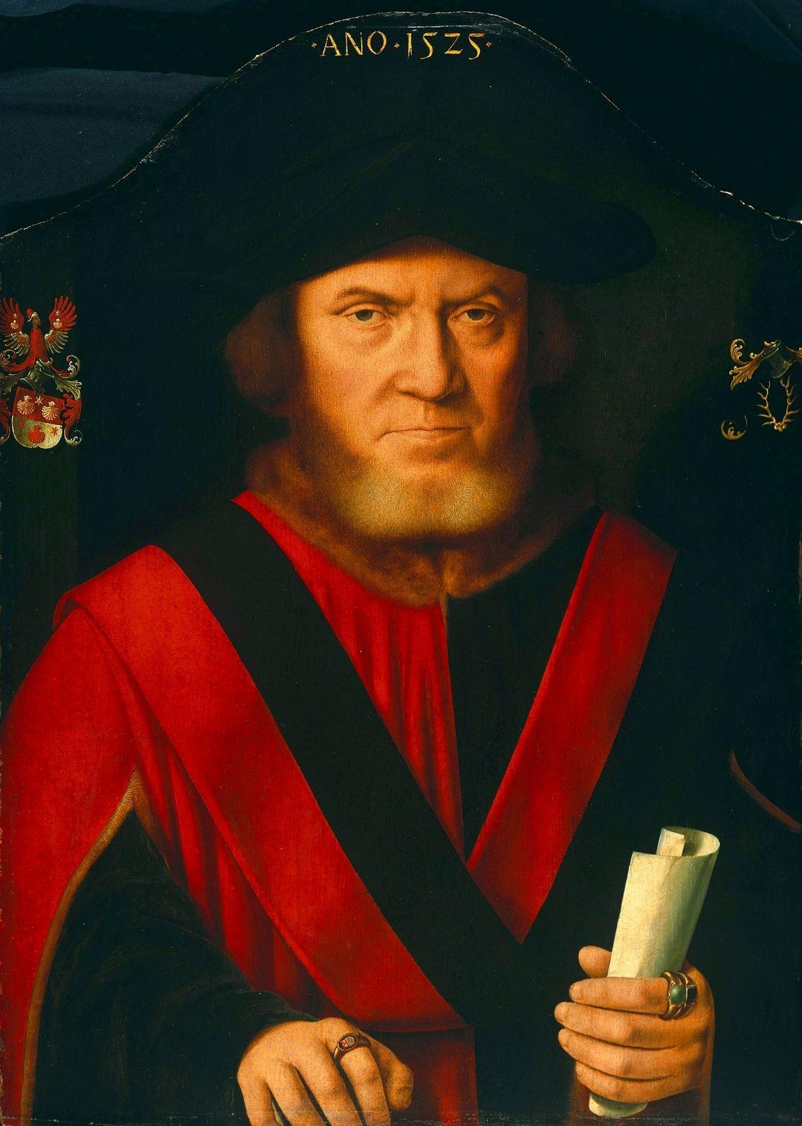 1525 Bartholomäus Bruyn I - Johannes von Reidt