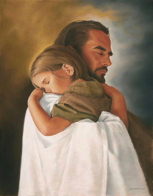 El Abrazo De Dios Abrazo De Dios Arte Lds Cristianos