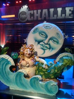 Super Punch: Urban Legends Mermaid cake