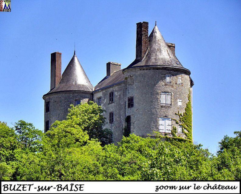 Chateau Buzet // chateau vu sur l'autoroute bordeaux - toulouse