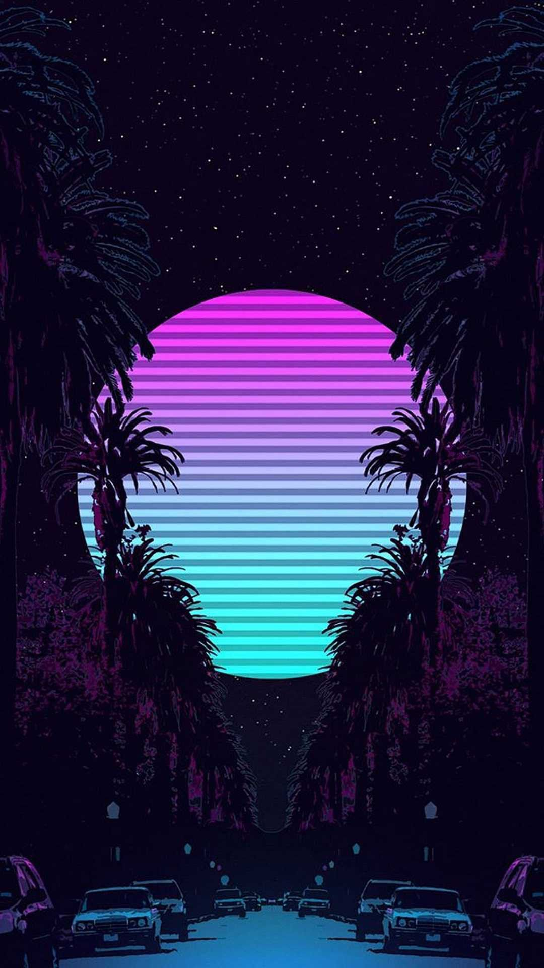 Pin by ADAM MASRI on Neon backgrounds in 2020 | Vaporwave ...