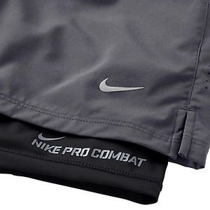 8d5e74fa7d0 NIKE 7 INCH PHENOM 2 IN 1 MEN S RUNNING SHORTS WAS  62 BUILT IN COMPRESSION