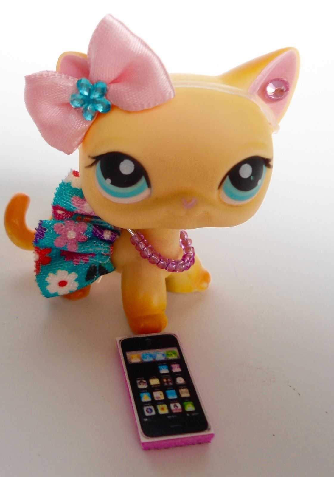 0eab50bc6a52d Littlest Pet Shop LPS Clothes Accessories Custom Outfit Lot CAT NOT ...