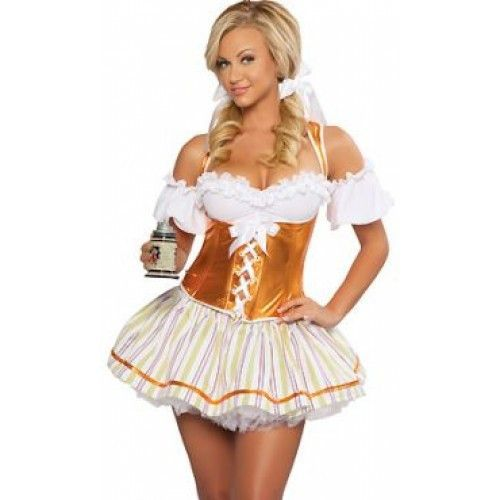 Sexy Oktoberfest halloween costume wench German maid women girls Deutsch new  sc 1 st  Pinterest & Sexy Oktoberfest halloween costume wench German maid women girls ...