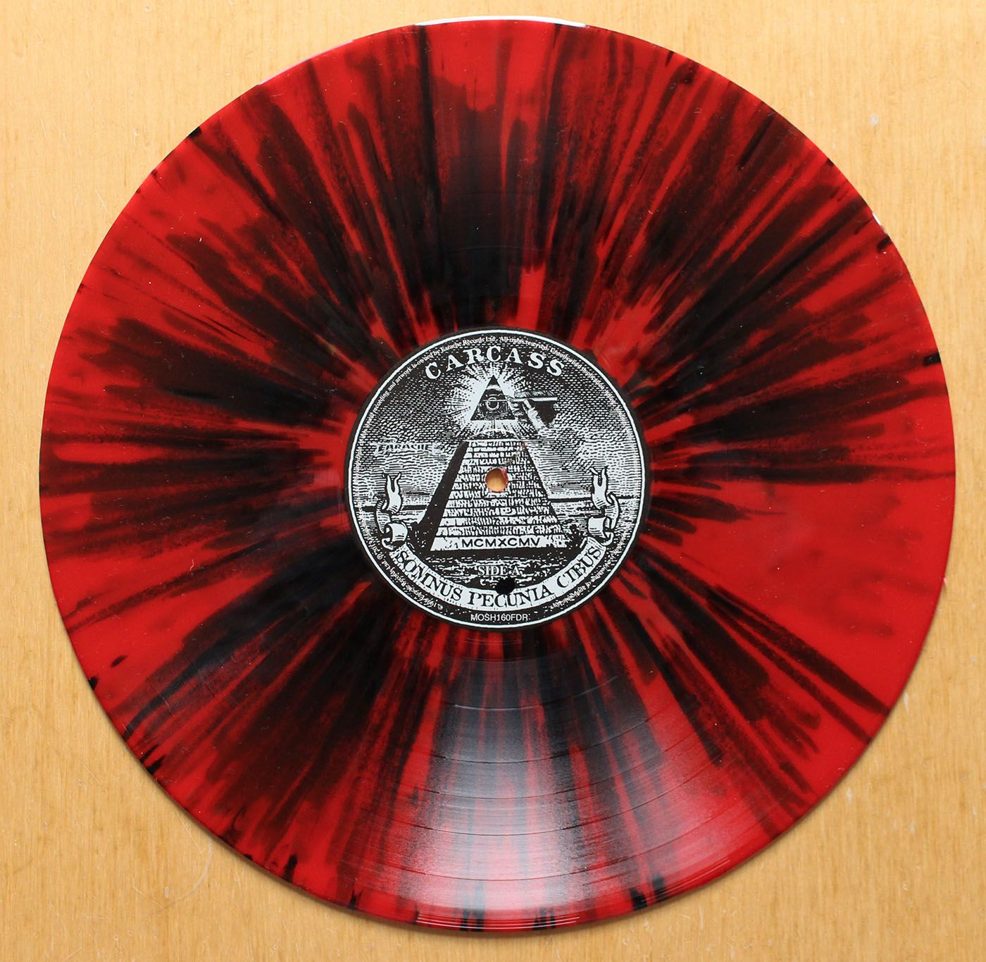 Carcass Swansong 2013 Fdr Reissue Red Amp Black
