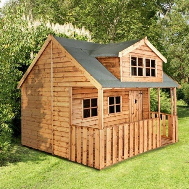 75 Dazzling Diy Playhouse Plans Free Mymydiy Inspiring Diy Projects Build A Playhouse Play Houses Playhouse Plans