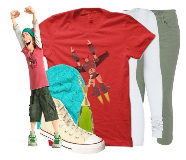 """""""Fred ~ Big Hero 6"""" by divergent1617 ❤ liked on Polyvore featuring White Stuff, American Vintage and Converse"""