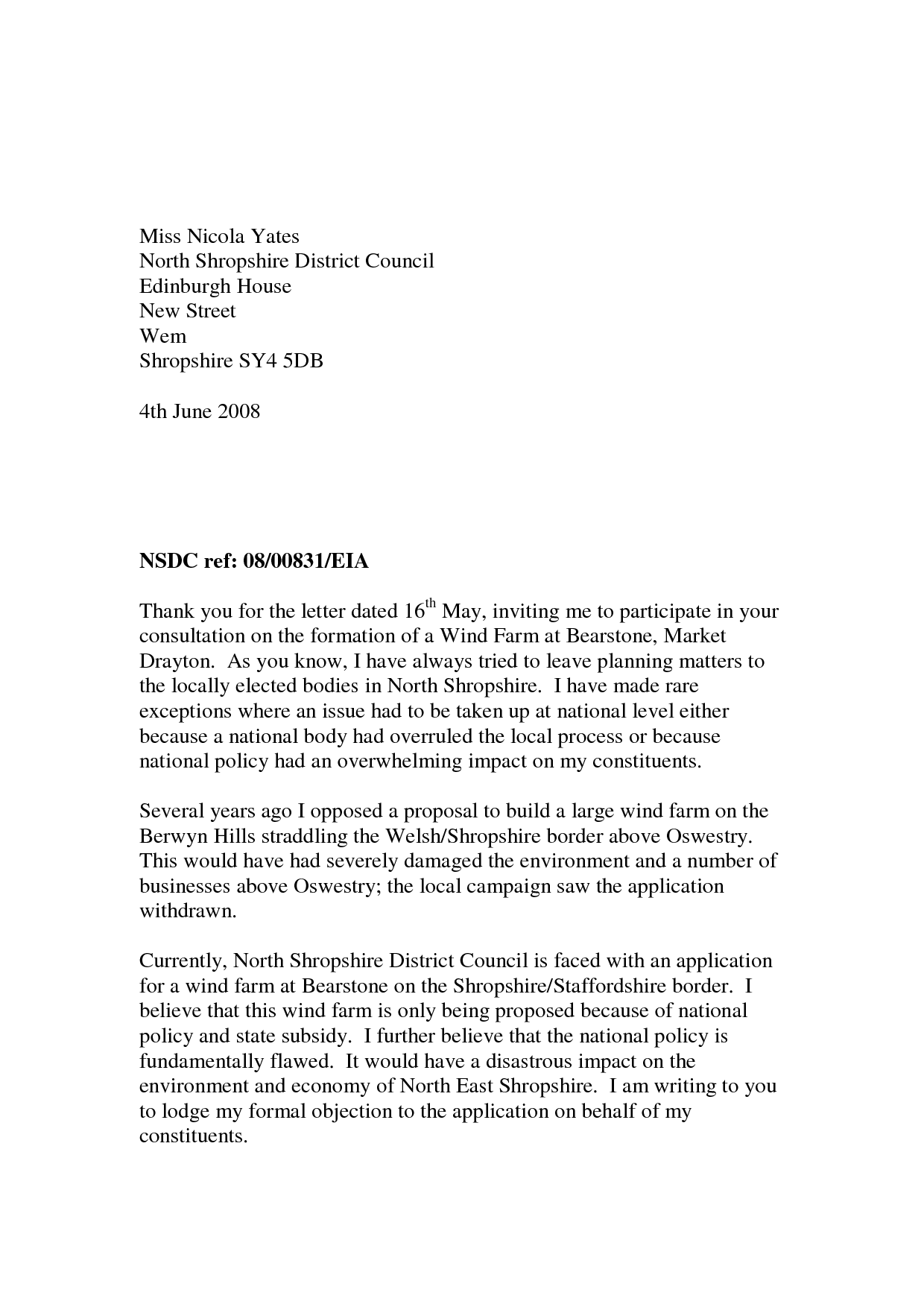 Spanish Formal Letter Sample Business Format How You Write
