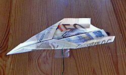 Geld Falten Flugzeug Geldgeschenke Folding Money Money Und Diy