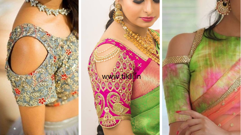 Top 50+ Latest and Trendy Blouse Designs For Saree #blousedesignslatest
