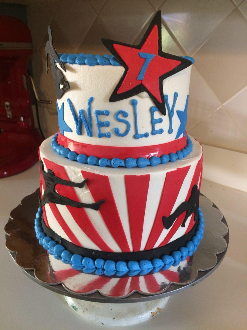 American Ninja Warrior Cake Cakes Pinterest American