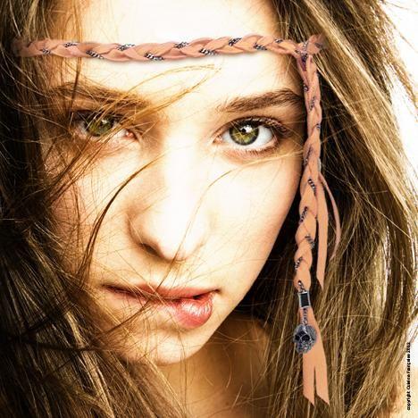 Braided hippie headband
