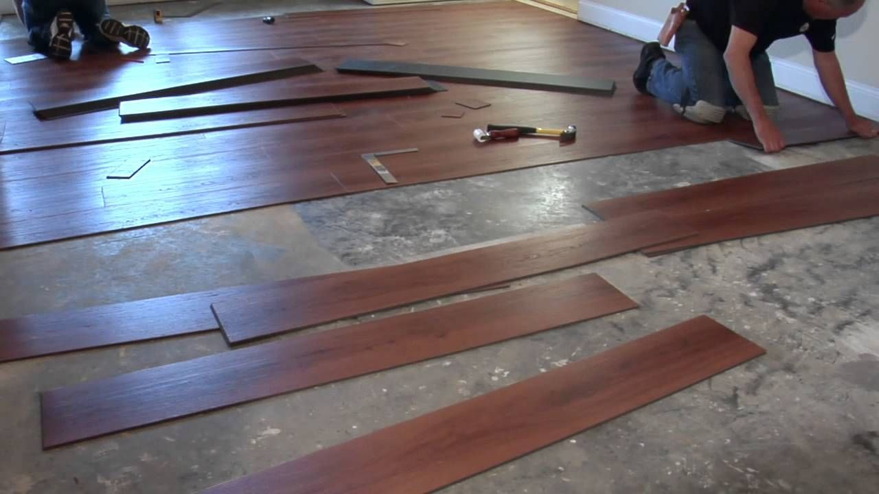 Floating Floor Over Concrete Basement Vinyl Plank Flooring