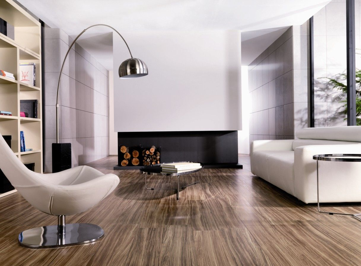This is a porcelanosa tile floor yep thats right wood planks porcelanosa tavola zebrano floor tiles modern floor tiles san francisco by porcelanosa usa dailygadgetfo Images