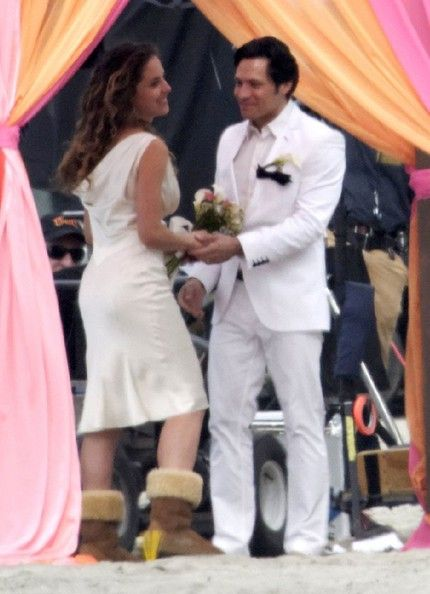 Nick Wechsler Photos Photos: Stars Film A Beach Wedding On ...