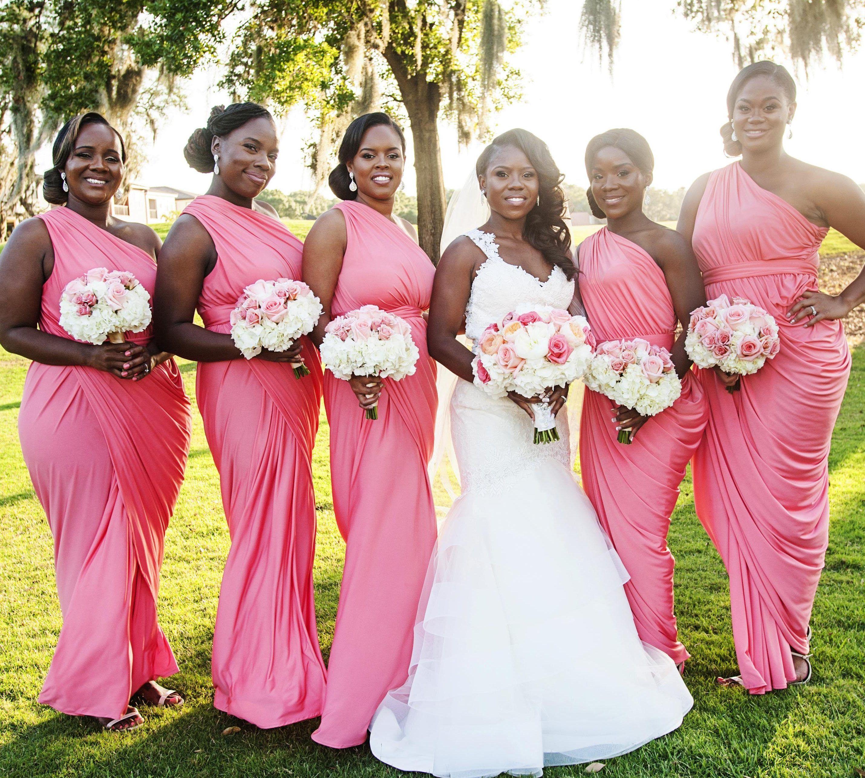 Vistoso White Bridesmaids Dress Elaboración - Colección de Vestidos ...