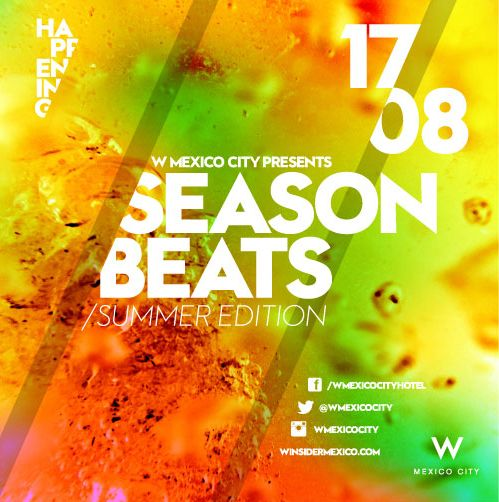 En nuestra 2˚ sesión de Music Matters presentamos: Season Beats / Summer Edition.  17 de agosto - STAY TUNED! #Wmusic