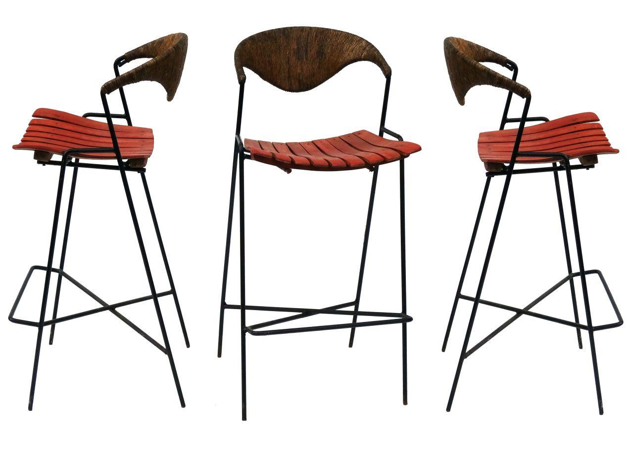 chair set arthur umanoff for raymor barstools nueve grand rapids michigans best mid