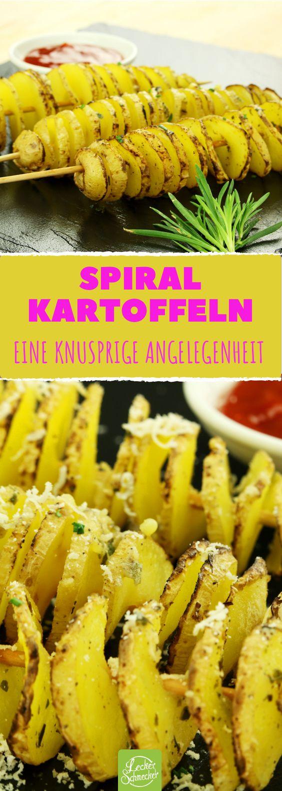 Kartoffel Wirbel mit würziger Marinade: Ein cooler Snack und leicht zu machen!