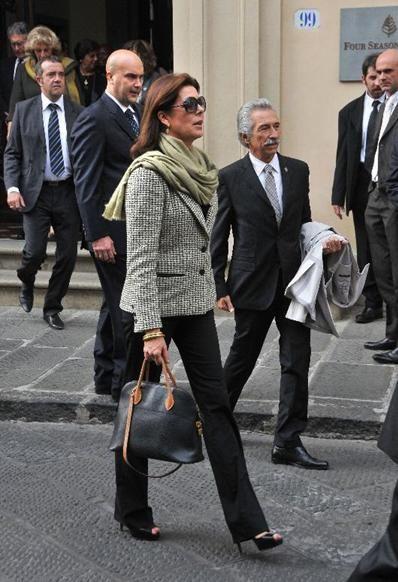 Carolina en Florencia en 2011