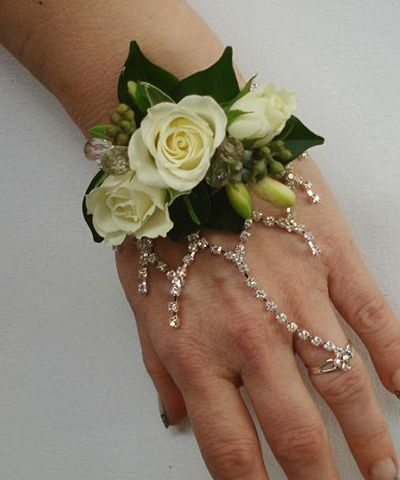 Crystal Corsage... Love the corsage minus the crystals