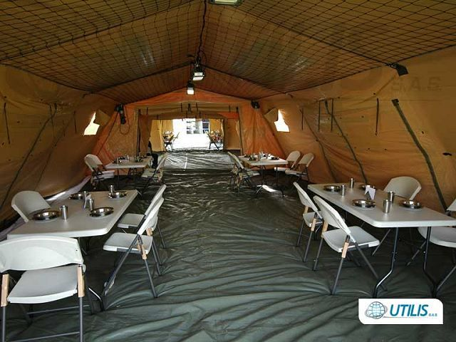 Military field c& NATO CBRN NBC COLPRO tent command posts Utilis data sheet specifications picture | France French army military equipment UK | French ... & Military field camp NATO CBRN NBC COLPRO tent command posts Utilis ...