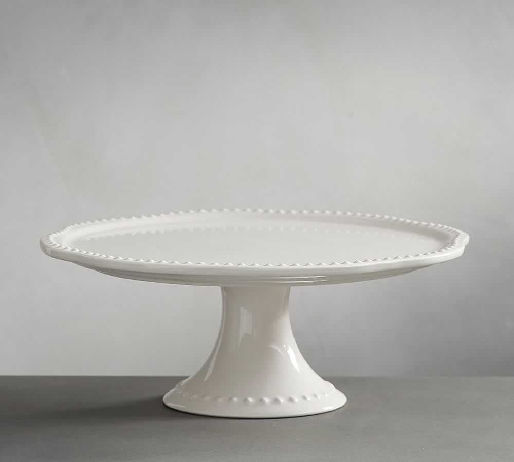 Emma cake stand white at pottery barn in 2020 pottery