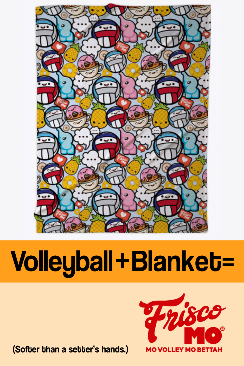 Soft And Cute Volleyball Blanket Goodnight Volleyball Volleyball Volleyball Outfits Volleyball Gifts