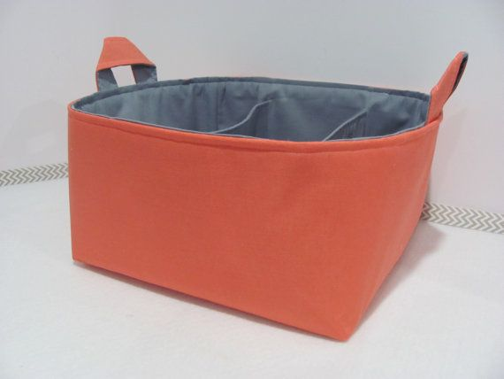 Fabric Diaper Caddy - Storage Container Basket - 11\