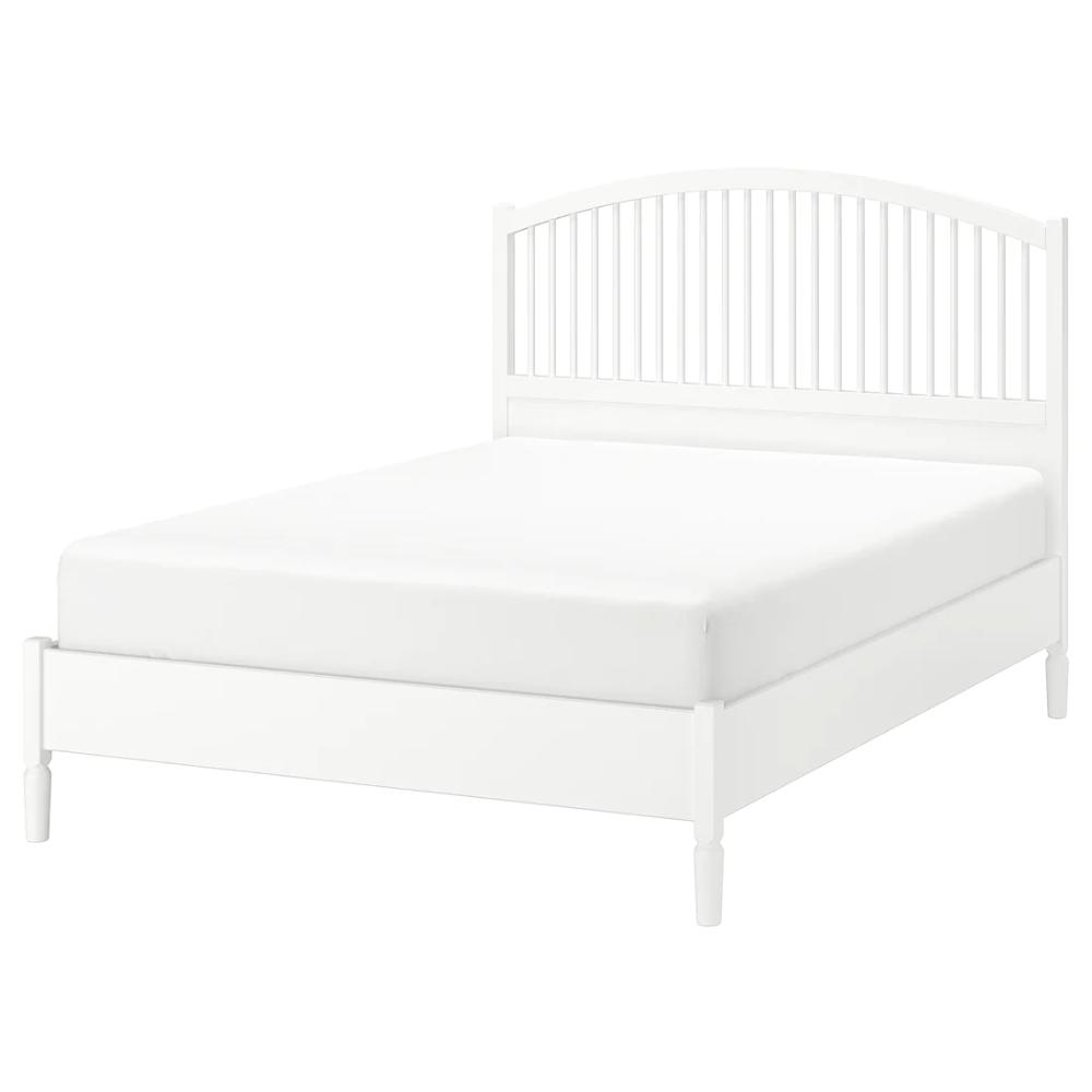 TYSSEDAL Bed frame, white, Full IKEA in 2020 Bed frame
