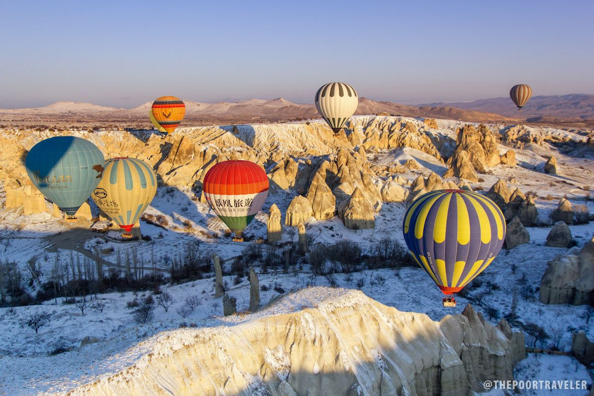 Cappadocia, Turkey Hot Air Balloon Ride at Sunrise Hot