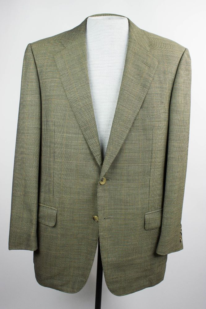 7018ae9e Ermenegildo Zegna Mens 42R Wool Blazer Jacket Sport Coat Made in ...