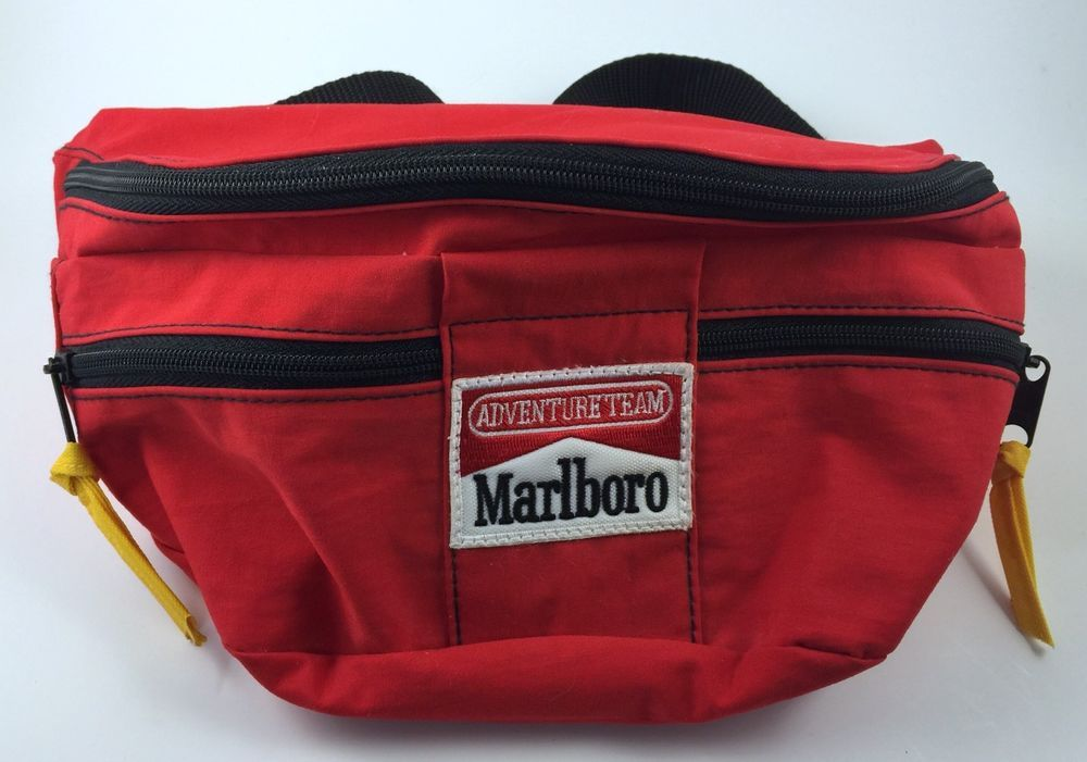 Vintage Marlboro Adventure Team Hip Pack Pouch Bag Official Gear