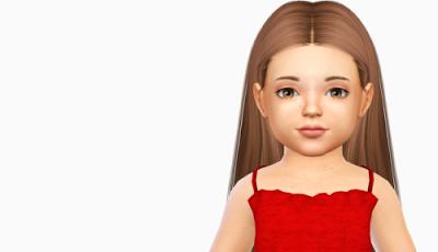 The Sims 4 Mody Fryzury Dla Małych Dziewczynek Od Fabienne