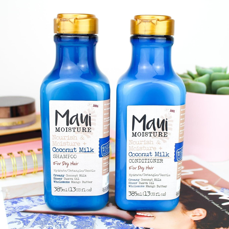 Maui Moisture Coconut Milk Shampoo & Conditioner For Dry