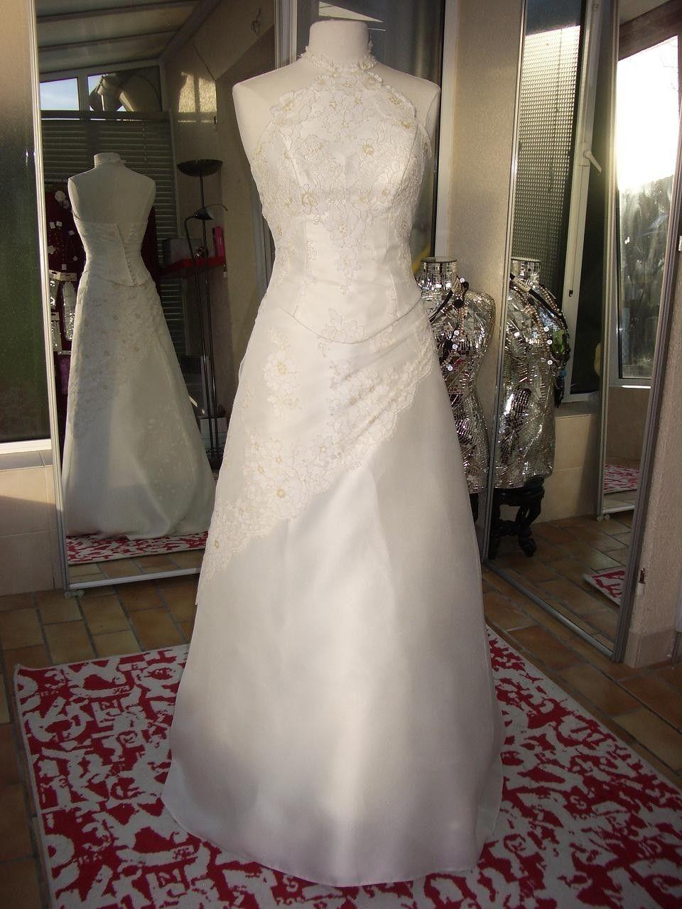 robe de mariée Hervé Mariage en dépôt vente
