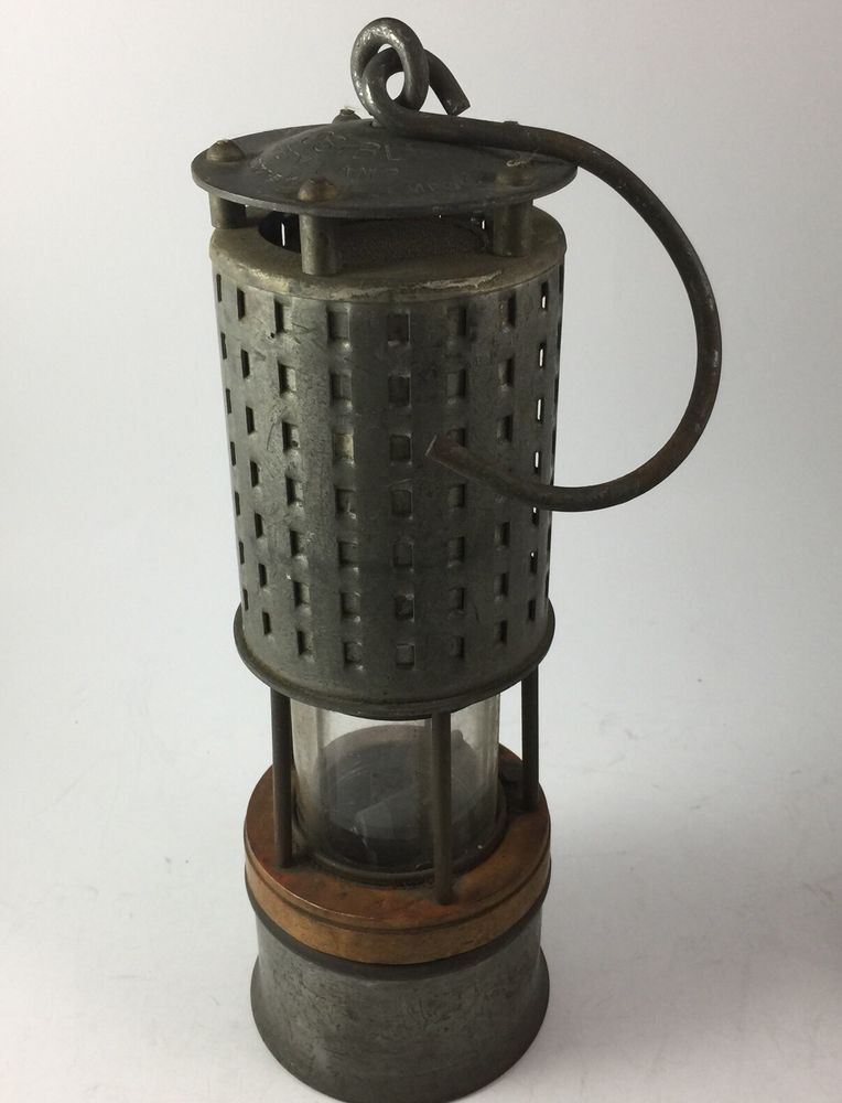 Antique Miners Mine Lantern ANTIQUE MINING MINERS LAMP about 1950s ...