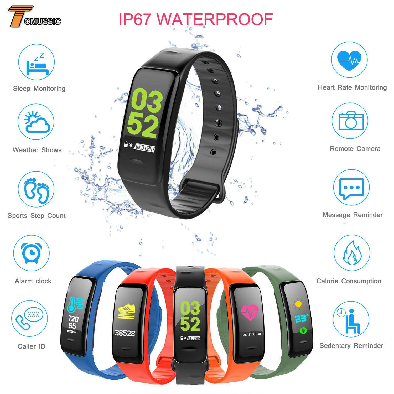 Tm Ip67 Waterproof Smart Watch Fitness Tracker C1plus Bracelet Sport Wrist Watch Smartwatch Idées De Smartwatch Smartwatch En 2020