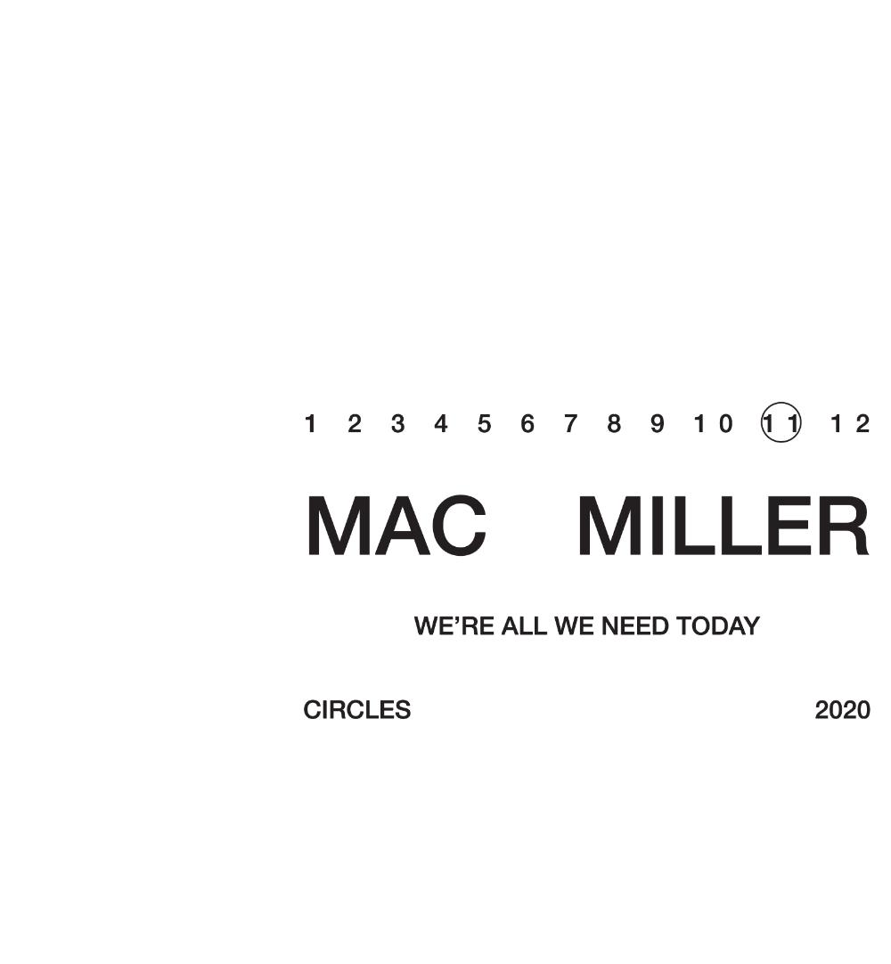 Mac Miller Circles Public Library Mac Miller Mac Miller Albums Mac
