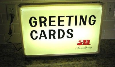 American greetings lighted sign signs pinterest american american greetings lighted sign m4hsunfo Choice Image