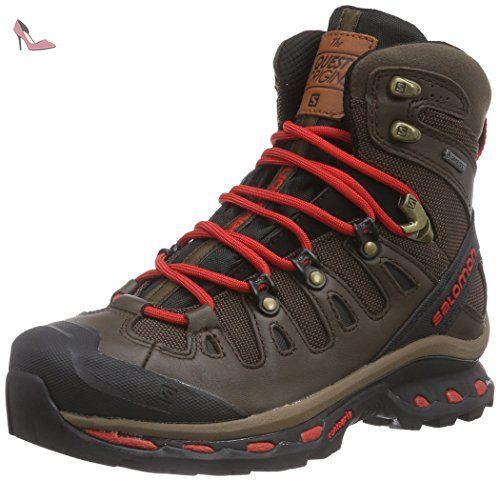 Salomon Quest 4d 2 Gtx, Bottes de Randonnée Homme, Vert (Bistro  Green/Scarab/Lime Punch.), 45 1/3 EU - Chaussures salomon (*Partner-Link) |  shoes | ...