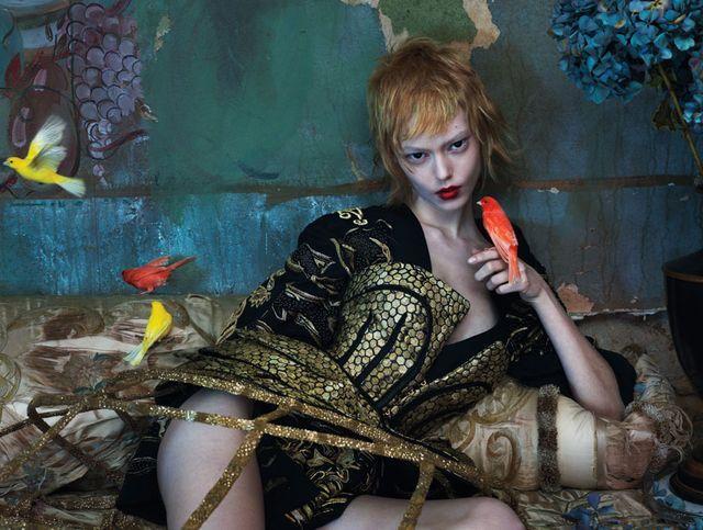 'East of Eden' by Mert Alas & Marcus Piggott for W March 2013 [Editorial]