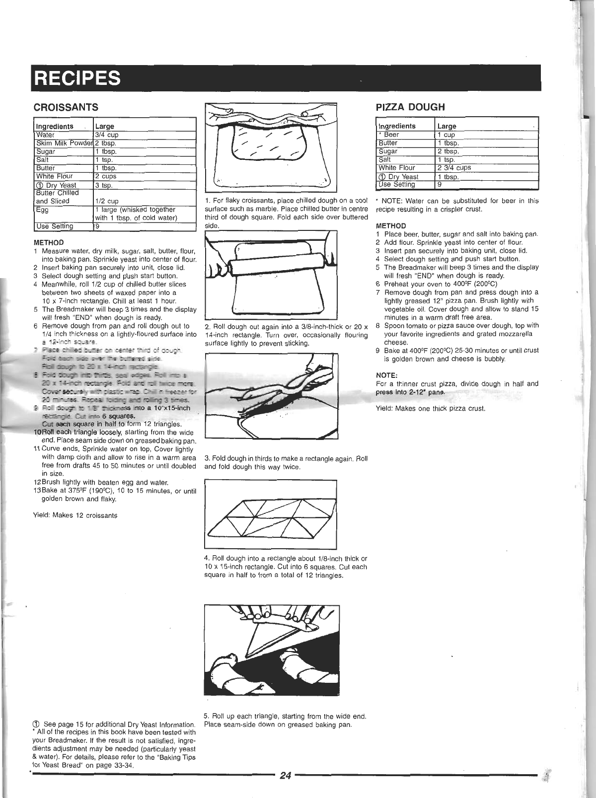 Page 25 of Welbilt Bread Maker ABM 4900 User Guide